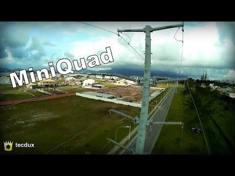MiniQuad with Betaflight, 1st flight