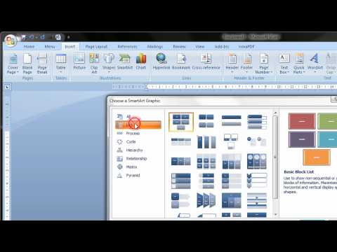 Create A Flow Chart In Word 2007 & 2010 2013 2016 Step By Step Tutorial