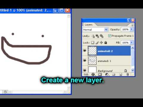 Photoshop CS2: How to make animated pictures (Easy tutorial)