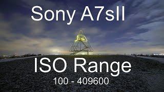 Sony a7s II ISO Range [100-409600]