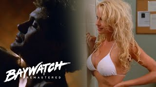 5 Sexy Encounters On Baywatch Mitch C J Parker Lead The Way Baywatch Remastered