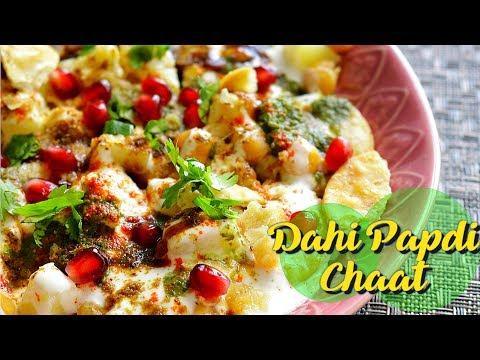 Dahi Papdi Chaat - दही पापड़ी चाट || How to make Dahi Papdi Chaat at Home || Easy Snacks Recipe