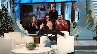 Ellen Surprises Texas Teachers with 12 Days Gifts!