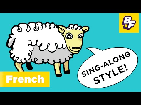 Learn French hello song - Bonjour, Hello