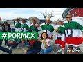 MEXICO - PORTUGAL l COPA CONFEDERACIONES 2017 l Las emociones, los mexicanos en Rusia, KAZAN