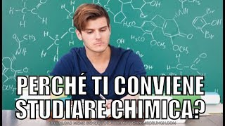 A che serve studiare la chimica?
