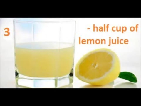 The best Drink to Get Rid of Fats and Lose Weight in Buttocks Area in 15 Days