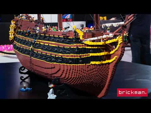 Throwback Thursday: LEGO® brick Pirate Ship