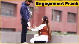 Engagement Prank on Cute Girls   The HunGama Films