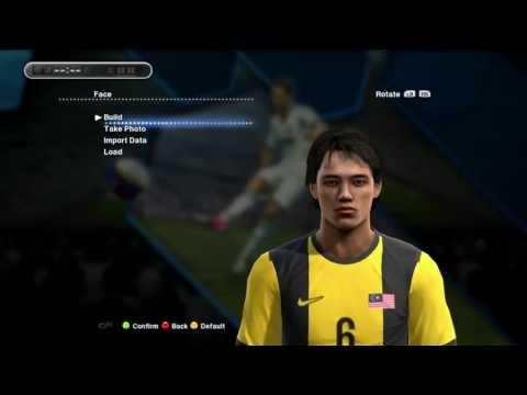 Pes 2013 Malaysia Squad