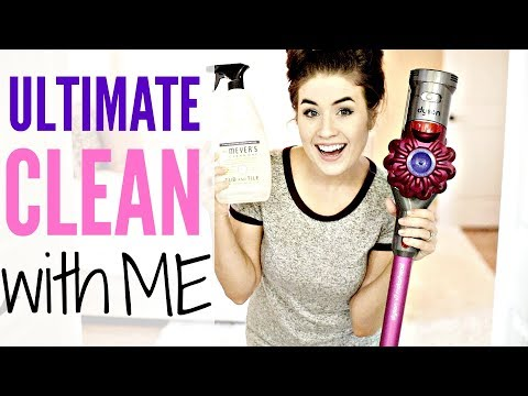 ULTIMATE CLEAN WITH ME | MAJOR CLEANING MOTIVATION w/ CLEANING MUSIC
