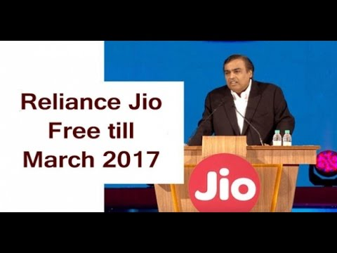 Reliance JIo | Extended Welcome Offer | Happy New Year 2017