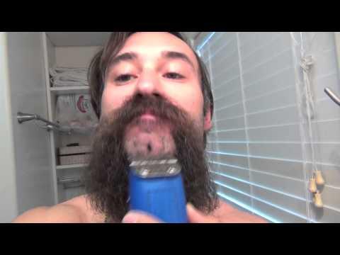 Shaving my 4 MONTHS LONG Beard - Michael Jackson