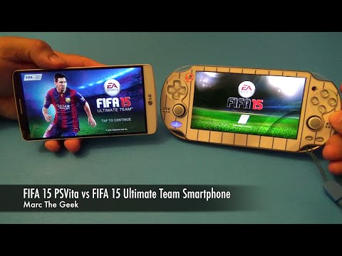 FIFA 15 PSVita vs FIFA 15 Ultimate Team Smartphone (LG G3)