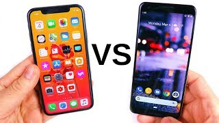 iPhone XS vs Google Pixel 3!