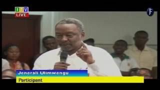 Jenerali Ulimwengu: Kinachoendelea Serikalini, Tumerudi Nyuma Miaka 50 Kwenye Demokrasia