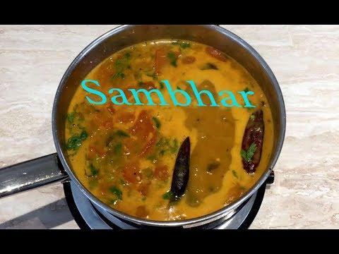 Sambhar, traditional South Indian recipe | Lentil Soup| Sambaru|Kuzhambu