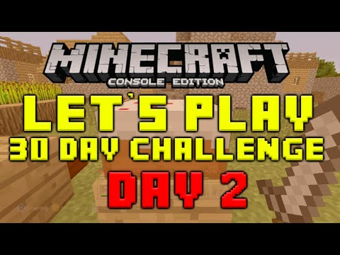 ★Minecraft Xbox 360 - 30 Day Let's Play Challenge -