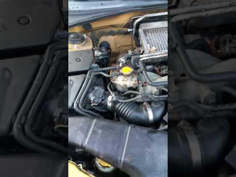 2003 Subaru wrx wagon mass air flow sensor replacement