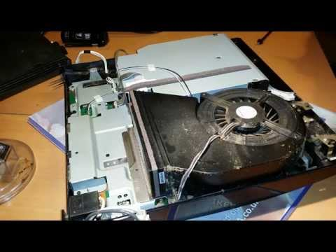 Dedustifying my PS3 slim (PS3 Dismantle and clean)