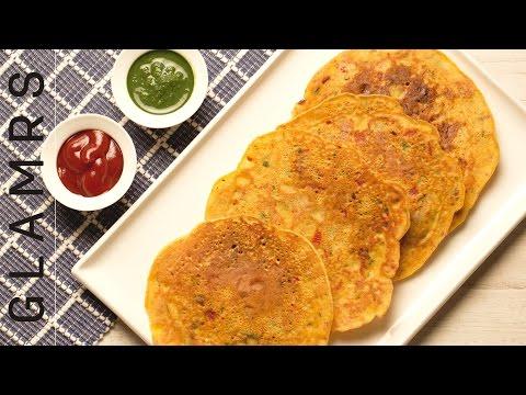 An Easy & Healthy Recipe for Besan Chilla | Tasty Vegetarian Breakfast Recipes