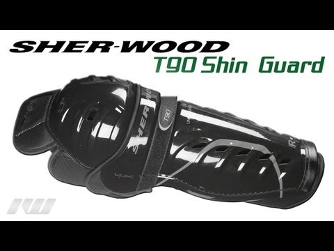 Sherwood T90 Undercover Hockey Shin Guards Review