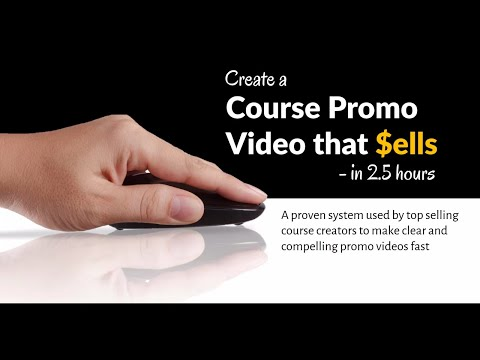 How To Create A Course Promo Video That Sells (About Course)