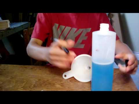 How to make cheap airbrush cleaner.
