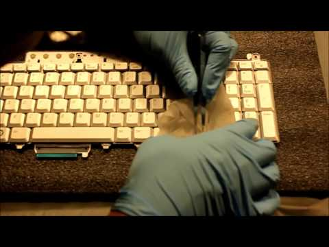 Frustrations of cleaning a laptop keyboard - Dell XPS M1730