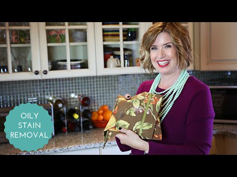 How To Clean Oily and Salad Dressing Stains On Fabric  | Don't Look Under The Rug® with Amy Bates