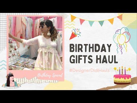 Birthday Shopping/Gifts Haul | With Love Inaaya