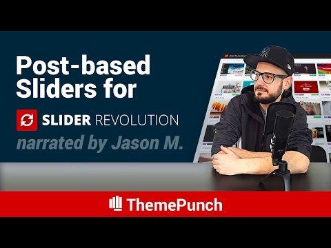 A Post-based Slider Revolution