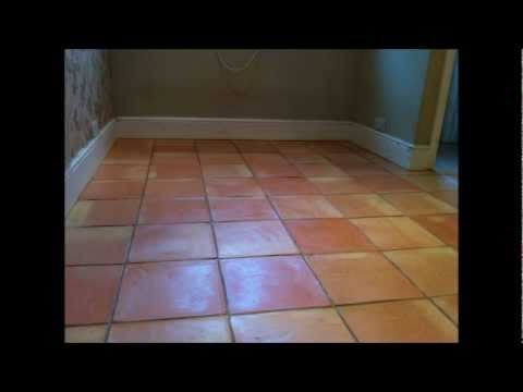 Terracotta clay stone floor cleaning and sealing East Sussex and Surrey
