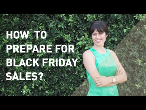 How to Prepare for Black Friday Sales
