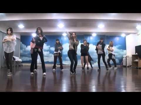 SNSD/Girls' Generation - The Boys mirrored Dance Practice
