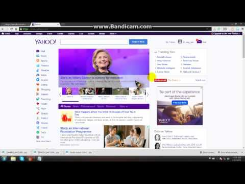 How to make facebook account with yahoo account