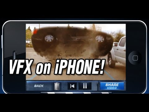 Action Movie VFX iPhone App Review & Demo iPhone Video FX