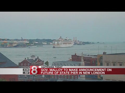Malloy to announce future of New London State Pier