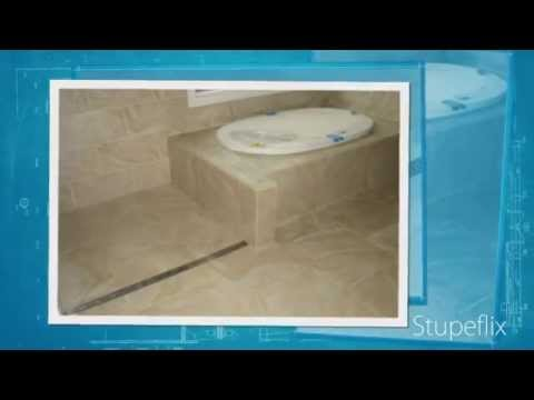 Curbless Shower Linear Drain Installation