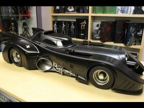 Batman 1989 Hot Toys Batmobile review