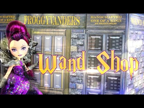 DIY - How to Make: HARRY POTTER Wand Shop - Handmade - Doll - Crafts
