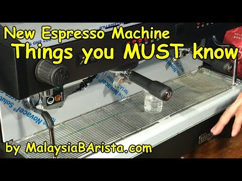 New Espresso Machine - Things you have to know (4K)