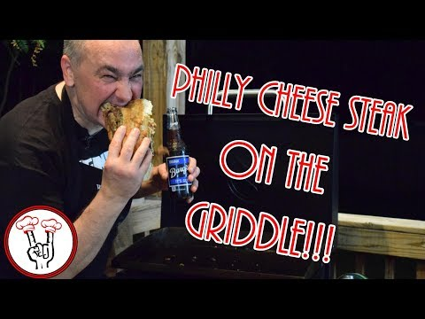 Philly Cheese Steaks on the Griddle