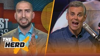 Nick Wright and Colin Cowherd disagree on LeBron