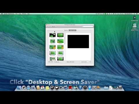 How to change your Wallpaper on a mac