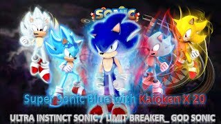 Sonic SSGSS(with aura) vs Sonic Exe Rose SSF2 MOD | Music Jinni