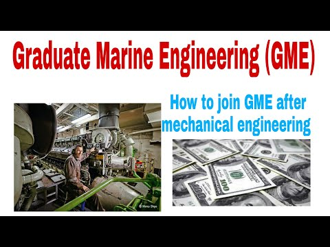 Graduate Marine Engineering (GME) course after mechanical engineering ????