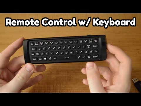 Azulle Lynk | Multifunction Universal Remote Review (Kodi Remote Control / Keyboard)