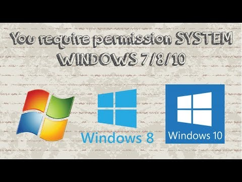 FIX You require permission from SYSTEM to delete this folder Windows