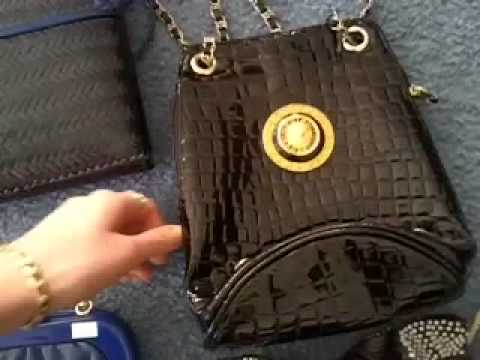 Vintage Handbag Haul from thrift store op shop to sell on Ebay